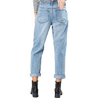 Rusty RELAXED BOYFRIEND JEAN - DUB DUST BLUE