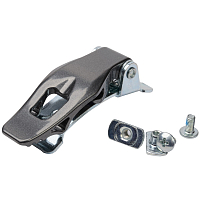 FULL TILT FT WIDE TRACK ALU MIDDLE BUCKLE KIT SILVER SILVER