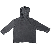 RVCA LIVE FREE CROSS HOOD BLACK