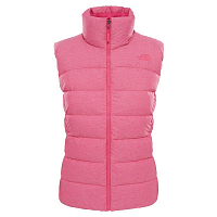 The North Face W NUPTSE VEST PETTICOAT PK HR (BA0)