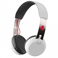 Skullcandy GRIND WIRELESS WHITE/BLACK/RED