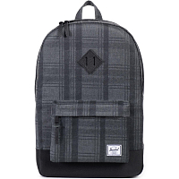 Herschel Heritage Plaid/Black/Leather