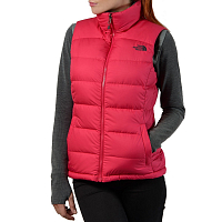 The North Face W NUPTSE 2 VEST - EU CERISE PINK