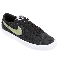 Nike SB ZOOM BLAZER LOW QS BLACK/PALM GREEN