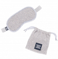 Herschel CASHMERE EYE MASK HEATHERED GREY