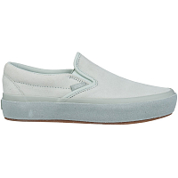 Vans CLASSIC SLIP-ON PLATFORM (SUEDE OUTSOLE) BLUE FLOWER/METAL