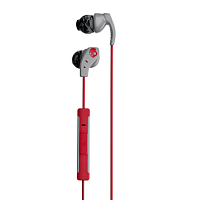 Skullcandy METHOD IN-EAR W/MIC GRAY/RED/SWIRL