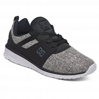 DC Heathrow SE J Shoe BLACK/CHARCOAL
