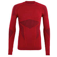 BODY DRY K2 LONG SLEEVE SHIRT BURGUNDY/RED