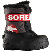 Sorel TODDLER SNOW COMMANDER Dark Grey, Brig