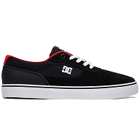 DC SWITCH  M SHOE BLACK/ATHLETIC RED