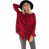 Billabong MEADOW LIGHT VELVET RED