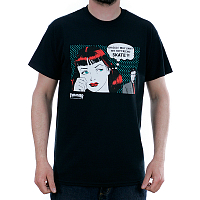 THRASHER NEW BOYFRIEND T-SHIRT BLACK
