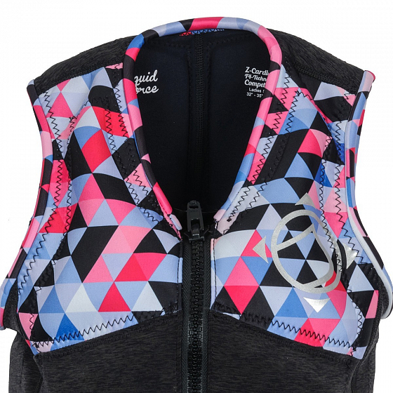 Жилет водный LIQUID FORCE Z-CARDIGAN WM COMP SS17 от Liquid Force в интернет магазине www.traektoria.ru - 4 фото