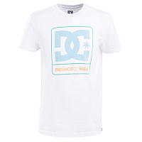 DC CLOUDLY SS M TEES SNOW WHITE