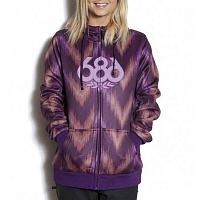 686 WM AIRFLT ICON BONDFLEECE HOOD Plm