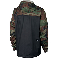 Nike SB ANORAK JACKET CAMO MEDIUM OLIVE/BLACK/BLACK