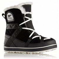 SOREL GLACY EXPLORER SHORTIE BLACK