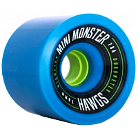 Landyachtz PRE-PACKAGED MINI MONSTER HAWGS BLUE