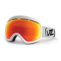 VonZipper SKYLAB White Satin/Fire Chrome