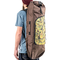 Sun Hill Long Pack BROWN/BUD PRINT