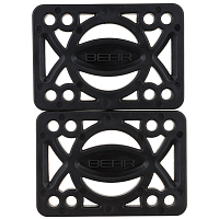 Bear 1/4'' HARD FLAT RISER PADS (SET OF 2) ASSORTED