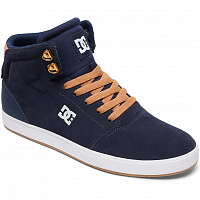 DC CRISIS HIGH M SHOE NAVY/CAMEL