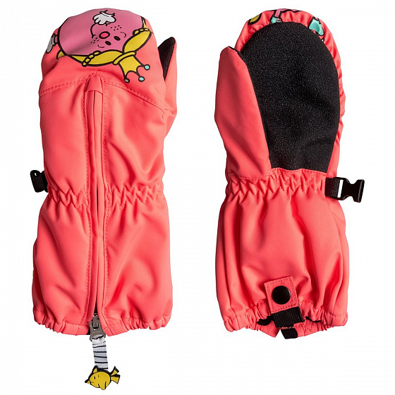 Варежки ROXY SNOWSUP LITTLE K MTTN FW18 от Roxy в интернет магазине www.traektoria.ru - 1 фото