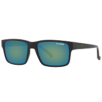Arnette DASHANZI MATTE BLACK/EMERALD IRIDIUM