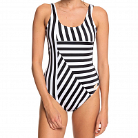 Roxy PO SU MO BA 1PC J TRUE BLACK VICTORIA STRIPES SW