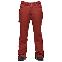 Airblaster WMS SLIM CURVE STRETCH PANT OXBLOOD
