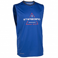 STARBOARD SLEEVELESS WATERSHIRT TEAM BLUE