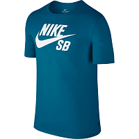 Nike SB LOGO TEE INDUSTRIAL BLUE/INDUSTRIAL BLUE/WHITE