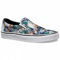 Vans Classic Slip-On (Earth) blue/true white