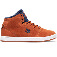 DC CRISIS HIGH WNT B SHOE BROWN/BLUE