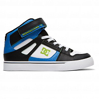 DC PURE HT SE EV B SHOE BLUE/BLACK/WHITE