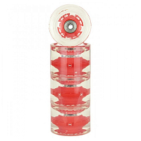 Sunset Skateboards LONG BOARD WHEEL WITH ABEC9 RED