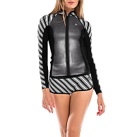 Glidesoul JACKET 1 MM Stripes Print/Black/Sparkling GS Black