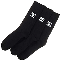 DC SPP DCW 3PK M Sock BLACK