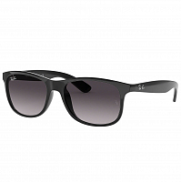 RAY BAN ANDY BLACK/GRAY GRADIENT