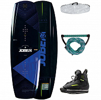 Jobe VANITY WAKEBOARD & UNIT BINDINGS PACKAGE ASSORTED