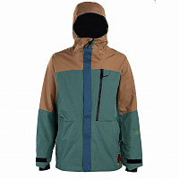 686 MNS PEACEKEEPER JKT FERN HERRINGBONE COLORBLOCK