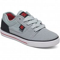 DC TONIK B SHOE GREY/BLACK/RED