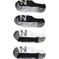 Billabong INVISIBLE SOCK 2PACK ASSORTED