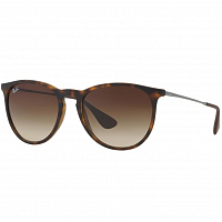 RAY BAN ERIKA RUBBER HAVANA/GREY MIRROR SILVER