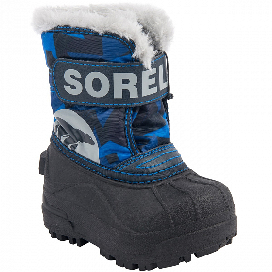 Сапоги SOREL TODDLER SNOW COMMANDER PRINT FW18 от SOREL в интернет магазине www.traektoria.ru - 2 фото