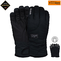 Pow CRESCENT GTX SHORT GLOVE/WARM BLACK