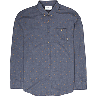 Billabong ALL DAY JAQUARD LS NAVY HEATHER
