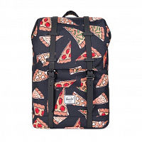 Herschel RETREAT YOUTH BLK PIZZA