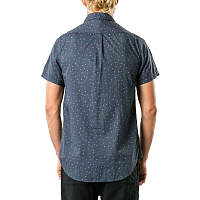 Rusty CAP SHORT SLEEVE SHIRT BLACK